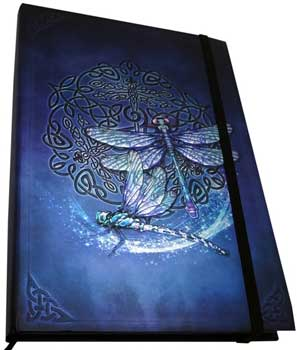 "5 1/2"" x 8"" Celtic Dragonfly journal"