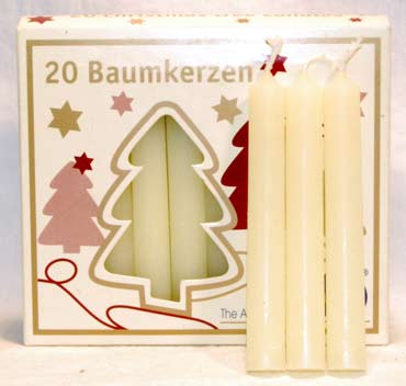 Ivory Chime Candle 20pk