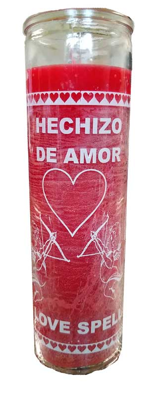 Love Spell Red (Hechizo del Amor) 7 Day jar candle