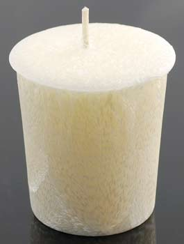 Nag Champa Palm votive(cream)