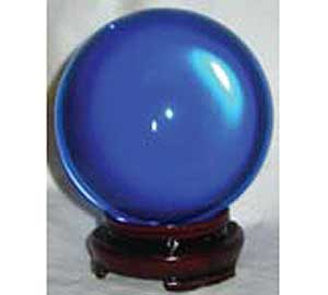 50mm Blue crystal ball