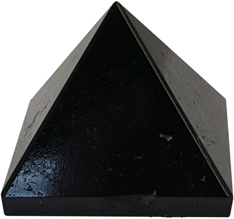 25-30mm Black Tourmaline pyramid