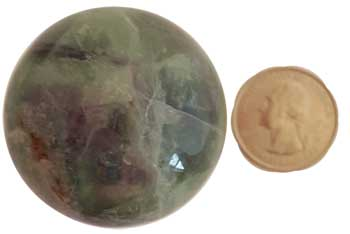 40mm Fluorite sphere