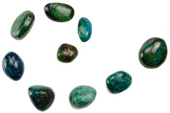 1 Lb Chrysocolla tumbled
