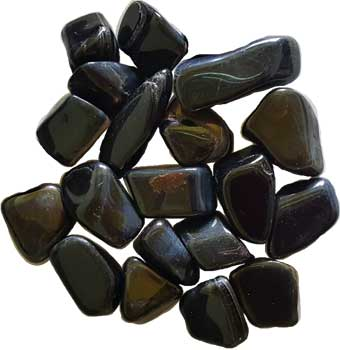 1 Lb Blue Tiger's Eye tumbled