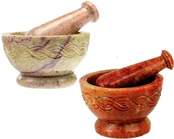 Celtic Mortar and Pestle Set