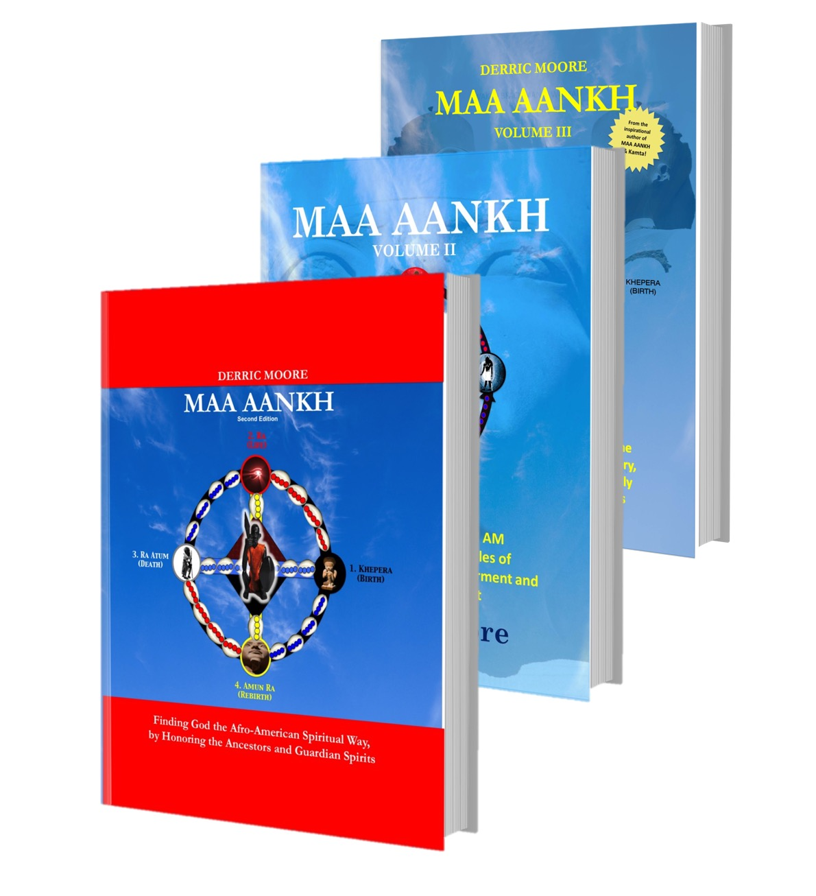 MAA ANKH Volume I, II & III Bundle