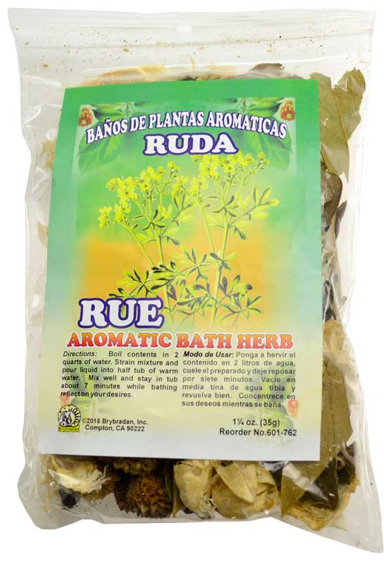 1 1/4oz Rue (Ruda) aromatic bath herb