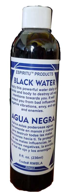 8oz Black Water (Agua Negra)